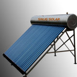 Stainless Steel Pressured Solar Hot Water Heating System