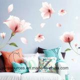 Creative Wall Sticker, Romatic Pink Flower