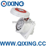 Waterproof Dustproof Panel Mounted Socket (QX222)