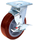 Swivel PU Caster - Red (4404677)