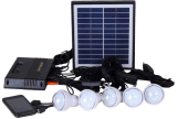 5PCS LED Lamp Solar LED Lighting Kits System From ISO Factory
