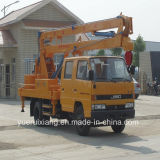 Exported Aerial Work Platform Truck 4X2 Hydraulic Lifter Truck