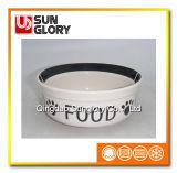 Decal Ceramic Pet Bowl of Gyp038