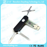 Army Knife Shape USB Drive with 4 in 1 Functions (ZYF1255)