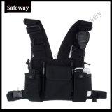 Two Way Radio Walkie Talkie Adjustable Chest Harness Bag
