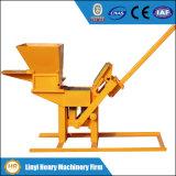Qmr2-40 Eco Manual Soil Cement Interlocking Brick Machinery Small Equipment
