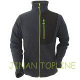 Men Full Zipper Micro Fleece Jacket