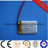 Li-Polymer 3.7V Battery 550mAh 503040 Li Battery for Small Electric Equipment
