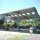 Wind-Resisting Prefab Steel Structure Shed Buildings with Nice Quality