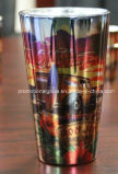 Metallic Sublimation Pint Glass for Personalized Logo