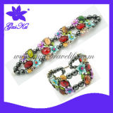 Latest Fashion Design Magnets Alloy Bracelet Jewelry (2015 Gus-Ab-048)
