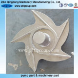 Stainless Steel Durco Pump Impeller with CNC Machining