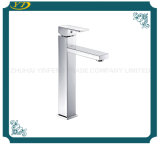 Lifting Type Single Handle Deck Mounted Brass Body Bathroom Faucet