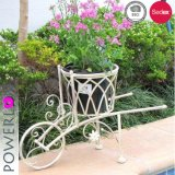Handmade Anqique Wrought Iron Planter Pots Flower Planter