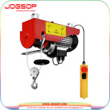 Hot Sale Mini Crane PA Electric Wire Rope Hoist with up and Down Limit Device Made in China