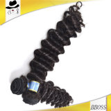 Unprocessed 10A Brazilian Deep Wave Human Hair Topper