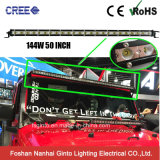 26mm Overall Height Smallest CREE 144W 50inch LED Bar Light (GT3520-144W)