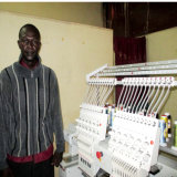 2 Heads Computerized Embroidery Machine for Africa Market Chinese Manufacutre