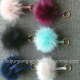 Factory Wholesale Genuine Faux Raccoon Fur Ball in 6-10 Cm