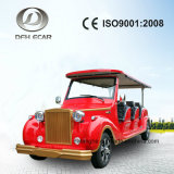 8 Seater Electric Golf Cart Classic Vehicle Sightseeing Car