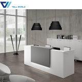 Stylish Acrylic Office Curved Reception Desk