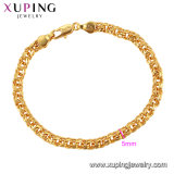 75272 Xuping Fashion Jewelry Women Bracelet, Elegant Bracelet, 24K Gold Color Plated Bracelet