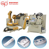 Automation Straightener with Feeder and Uncoiler Use in Machine Tool