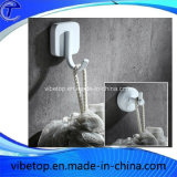 White and Black Kitchen or Bathroom Hook