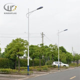 Professional Stainless Steel Street Light Pole with Single/Double Arm