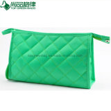 Fashion Green Travel Toiletry Bag Makeup Polyester Cosmetic Beauty Pouch