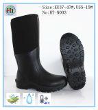 Hi-Q Black Neoprene Rubber Rain Boot, New Fashion Neoprene Rubber Boot, High Quality Rubber Boot
