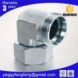2c9 Jic/NPT/Metric Fittings 90o Elbow Reducer Tube Adaptor with Swivel Nut Hydraulic Adapter