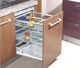 Foshan Wholesale Stainless Steel Kitchen Wire Drawer Basket (201)