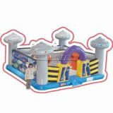 Cheer Amusement Alien Themed Inflatable Fun City Amusement Equipment