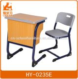 Wooden Classroom Desk and Chair Kids Furniture