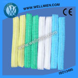 Non-Woven Bouffant Cap/Mob Cap/Disposable Surgical Clip Caps Colorful