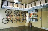 Stainless Steel Overhead Storage Rack with Powder Coated