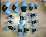 PP Compression Pipe Fitting for Water Suppy, Irrigation