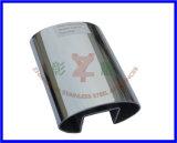 Inox Oval Elliptical Slotted Tube
