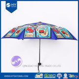 Custom Design Digital Printed Travel Sun Umbrella