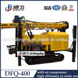 Good Quality 400m Dfq-400 Pneumatic Borehole Drilling Rig