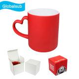 Heat Transfer Red Magic Mug Packed in Mug Box
