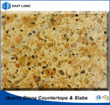 Durable Quartz Stone for Kitchen Countertops/ Table Tops with SGS Standards & Ce Certificate (Double colors)