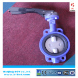 Pn16 Handle Manual Wafer Center Butterfly Valve Bct-Wbfv-12