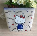 Matt Soft PVC Jewelry Case PVC Gift Bag with Handle (YJ-K024)
