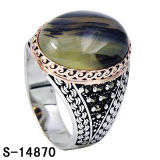 Fashion Jewelry 925 Silver Jewelry Men Ring.