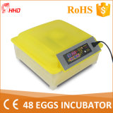 2016 Newest Automatic Chicken Egg Incubators for Hatching Machine (YZ8-48)