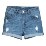 Cotton/Poly Fitted 8oz Denim Short
