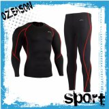 Polyester Spandex Custom Long Sleeve Compression Shirt Compression Tights (CM005)