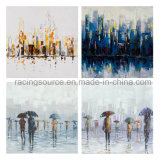 Modern Abstract Landscape Handmade Oil Canvas Painting
